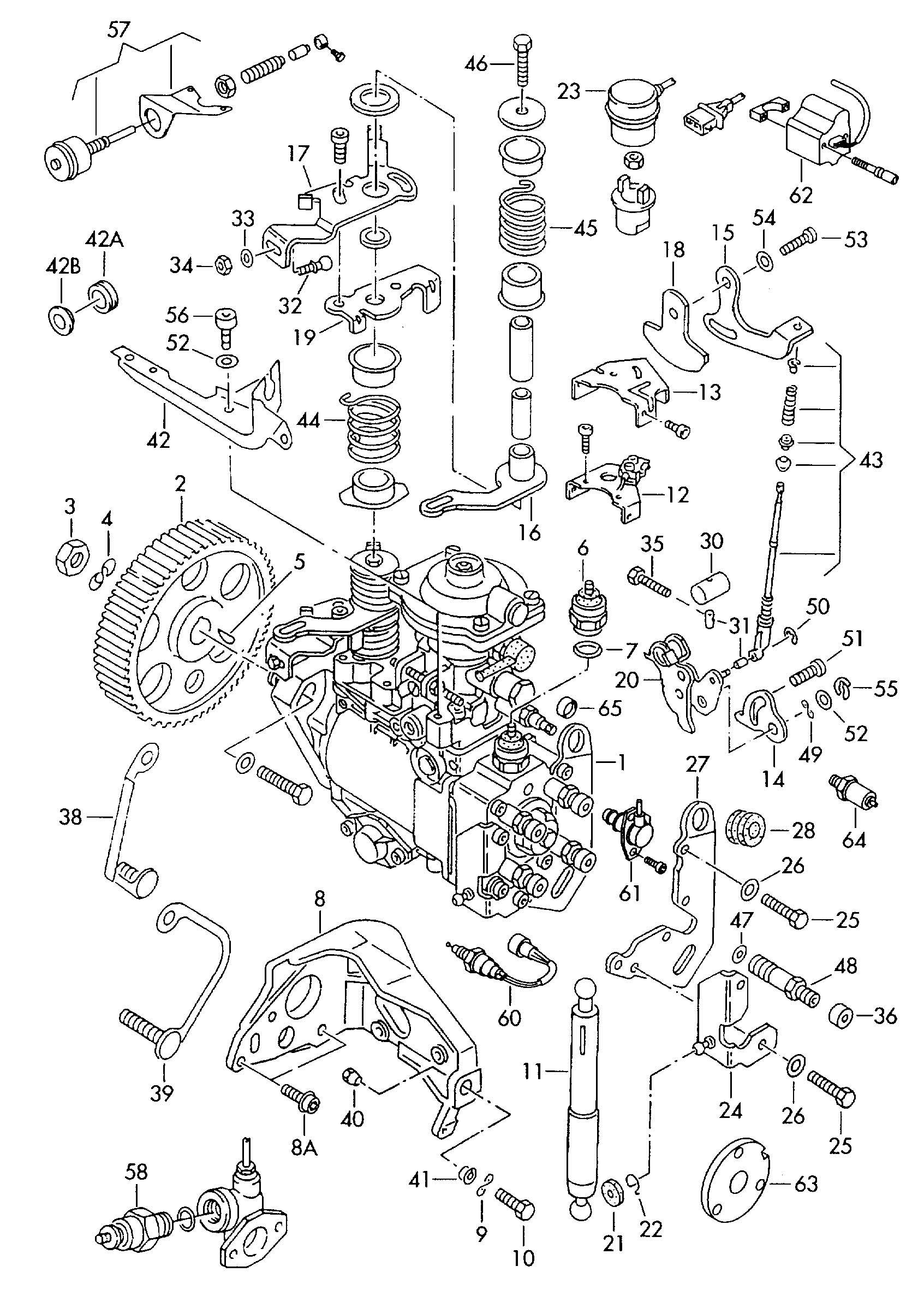 Kubota V Parts Breakdown