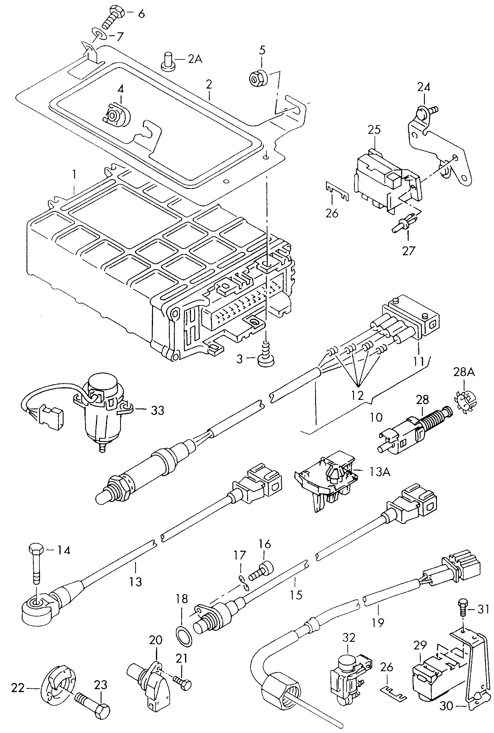 Volkswagen Also Use Knock Sensor With Harness