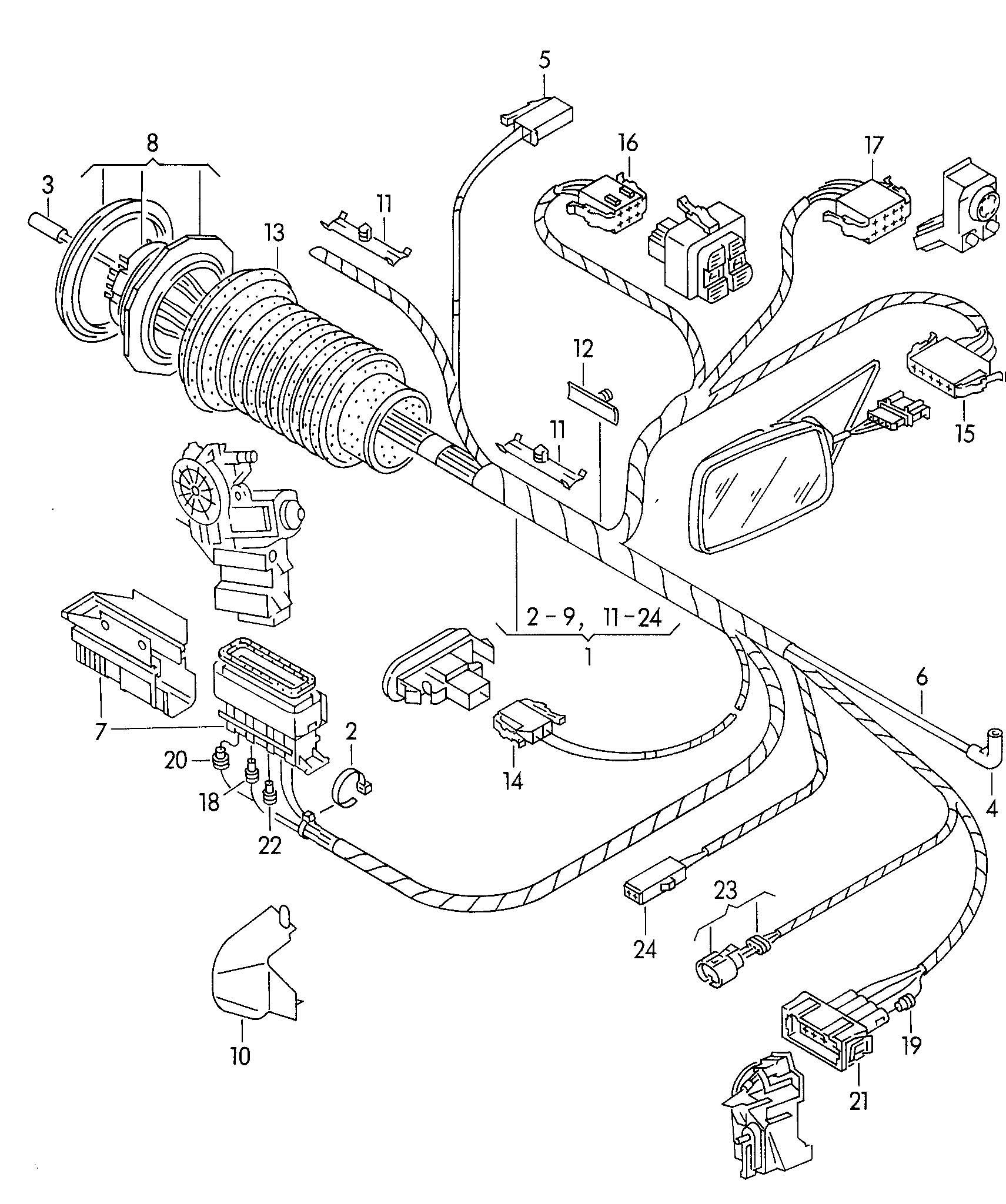 Volkswagen Passat 1 9l Tdi Adapter Wiring Harness