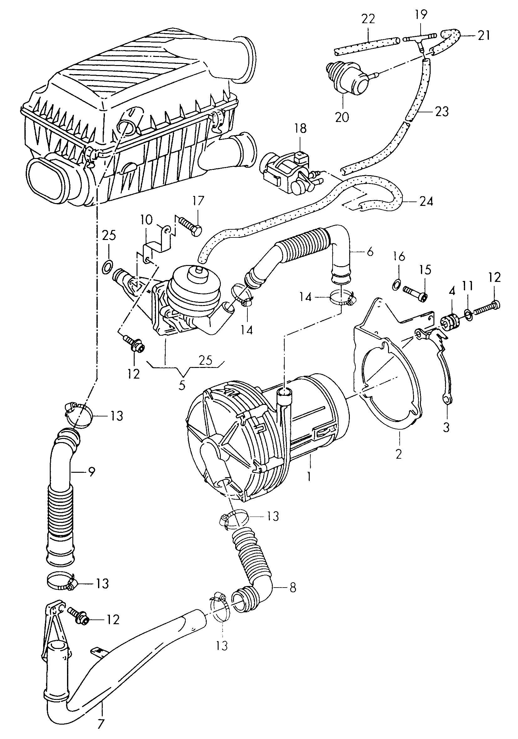Volkswagen Corrado Fuel Pressure Regulator Illustration