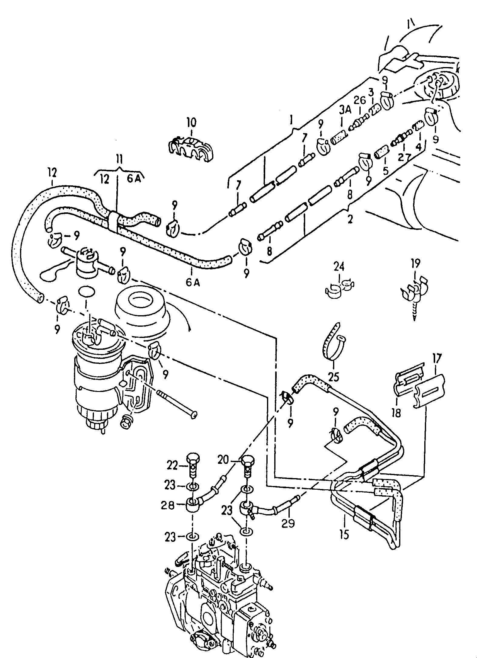 Volkswagen W8 Engine Diagram Volkswagen Auto Wiring Diagram