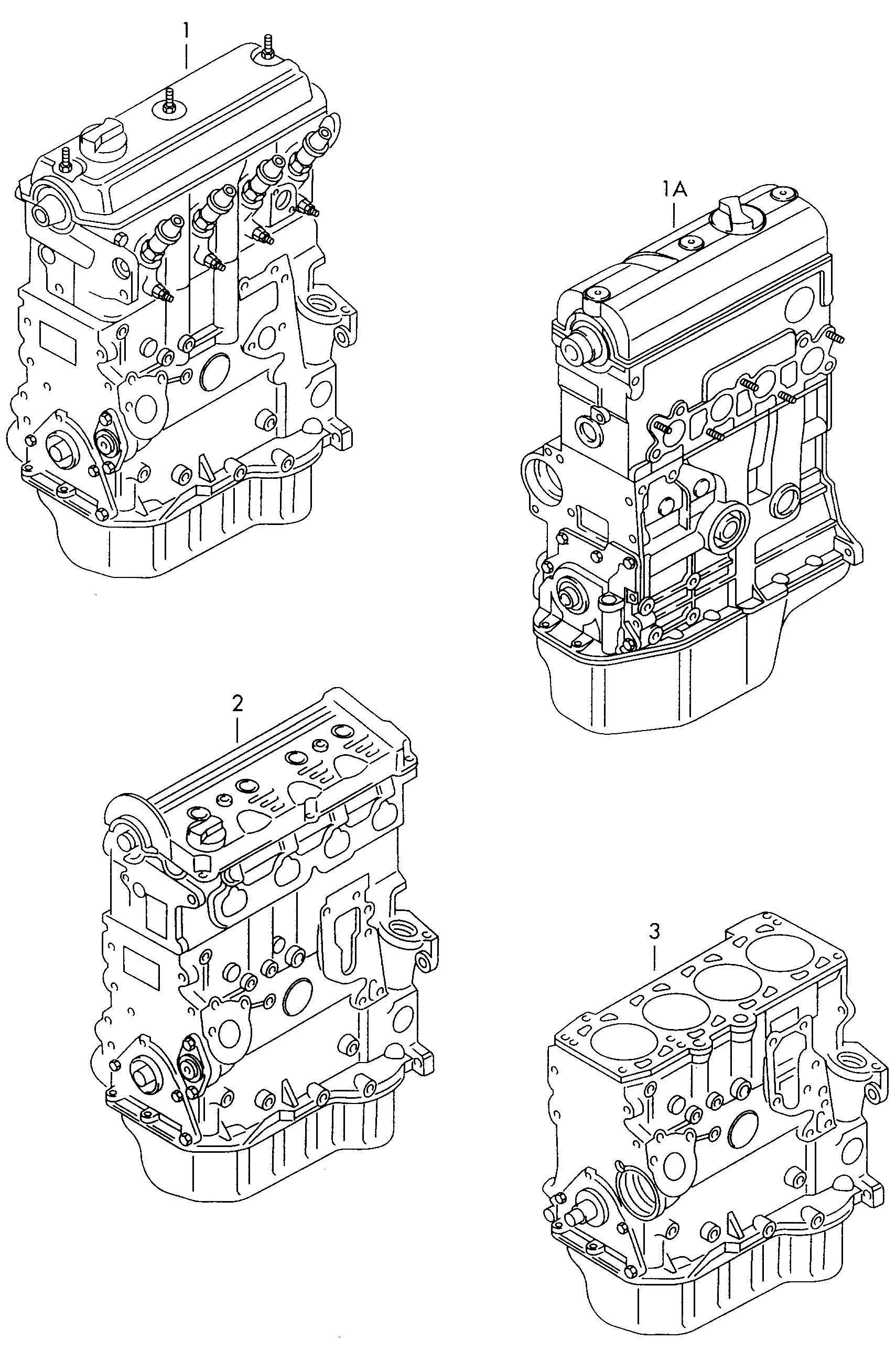 Volkswagen Jetta Short Engine As Required Use Short