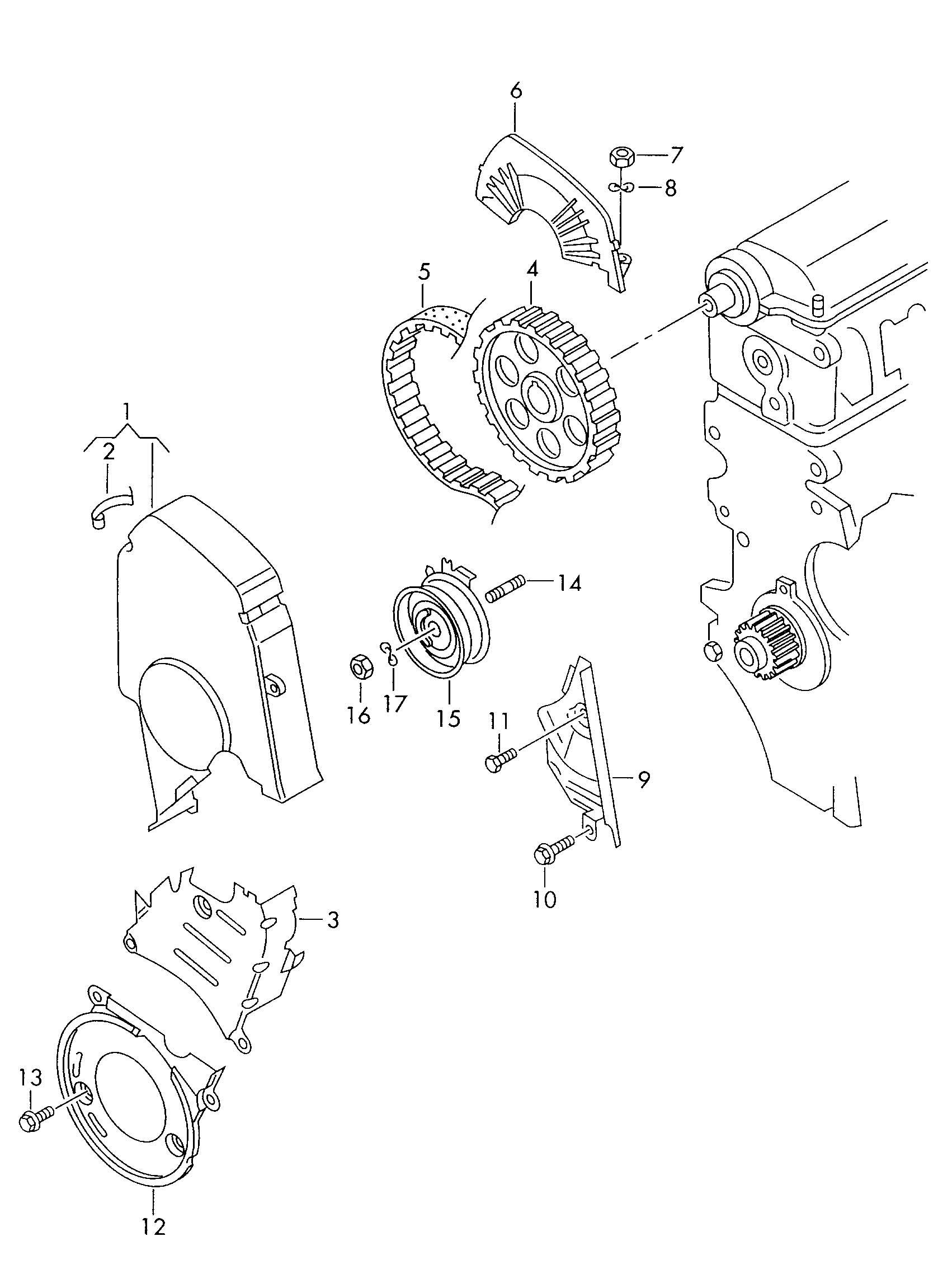 Volkswagen Belt Tensioner Roller