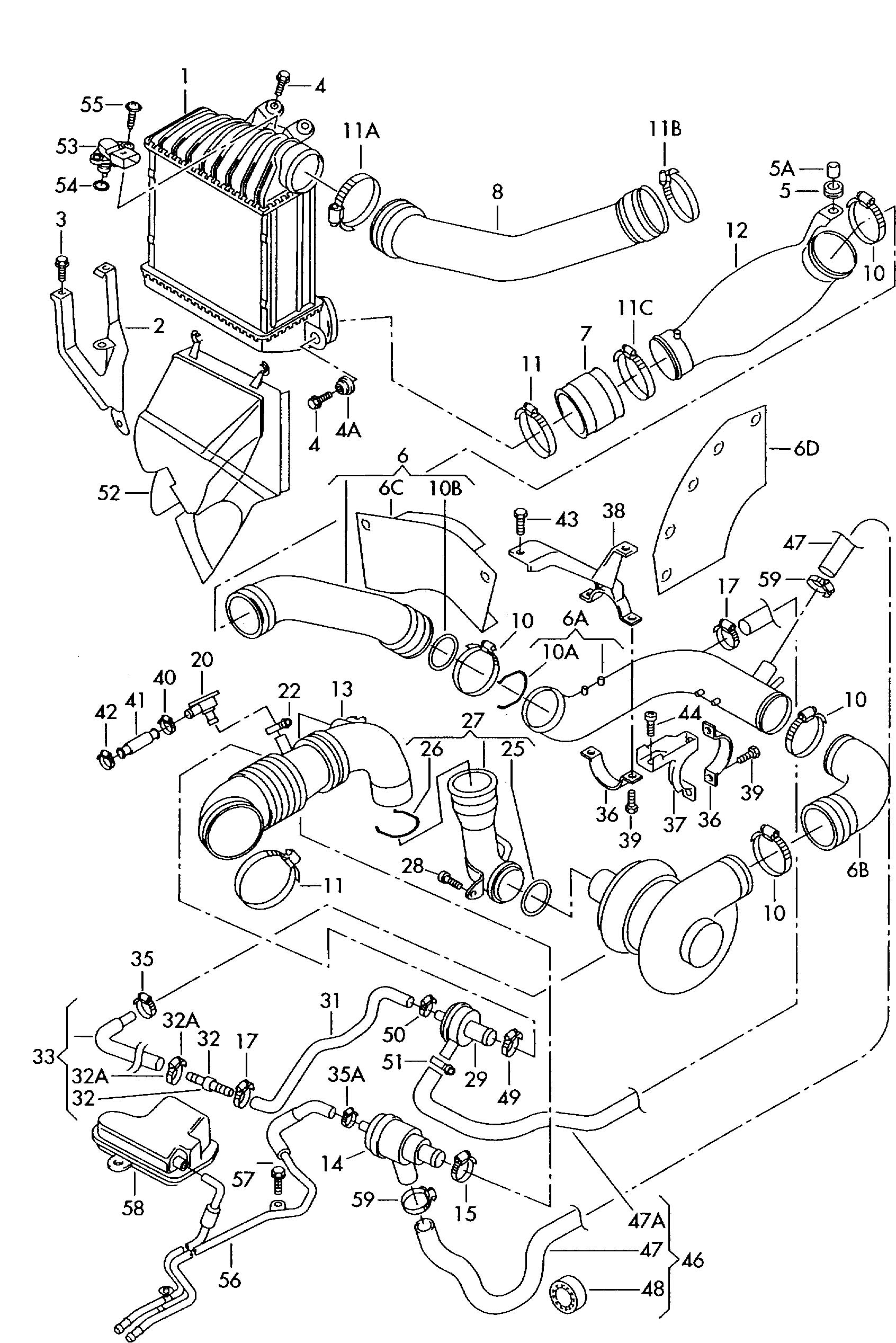 Audi Engine Diagram A4 1 8t