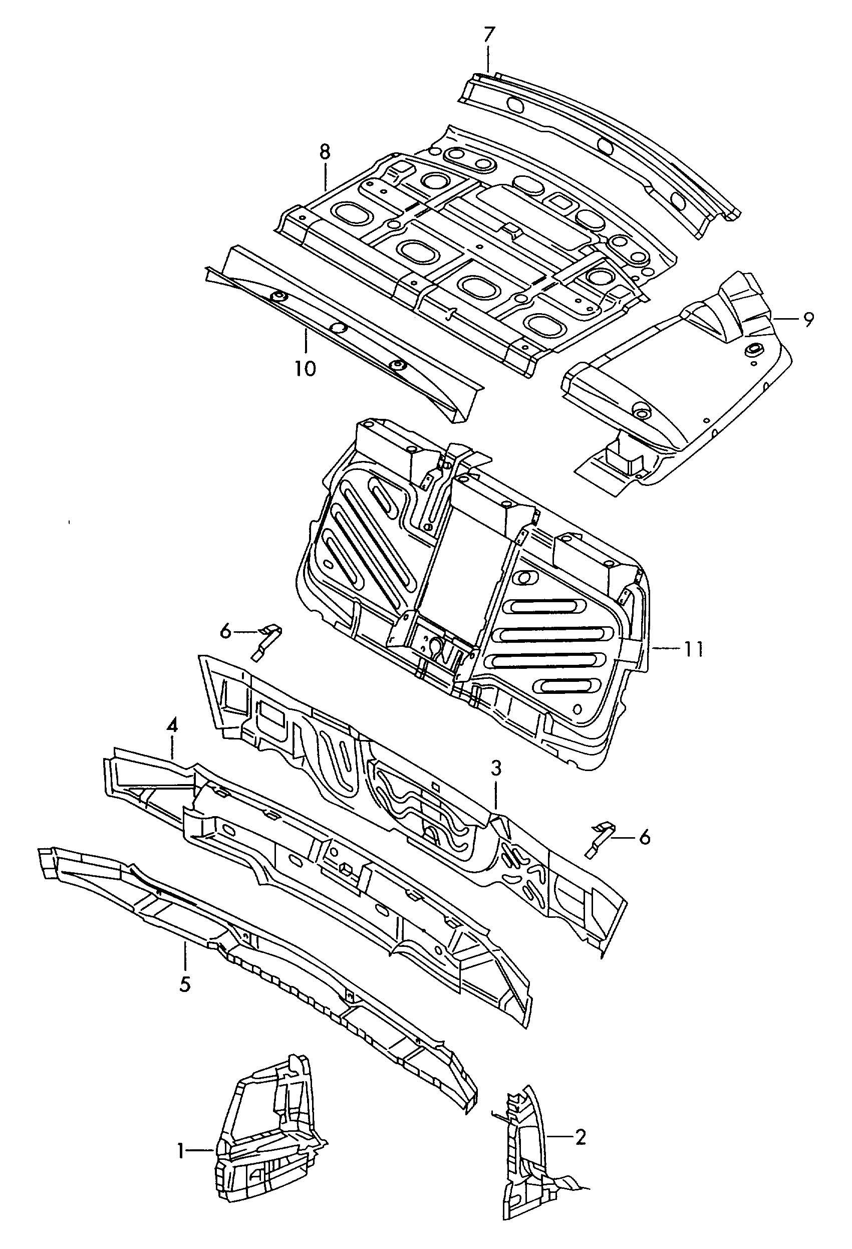Volkswagen Passat Syncro Striker Plate Lock Plate