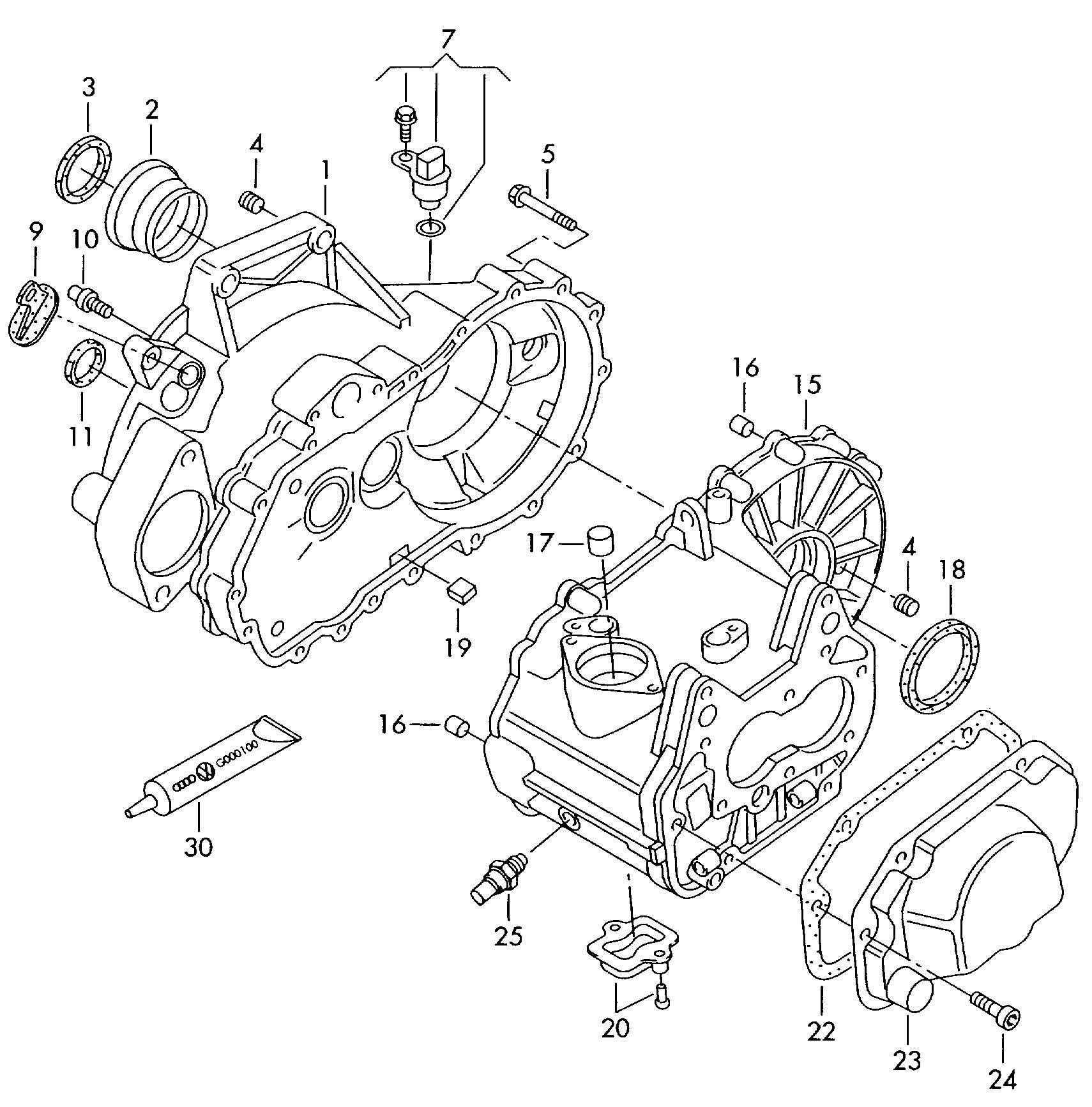 Transmission Case For 5 Speed Manual Transmiss