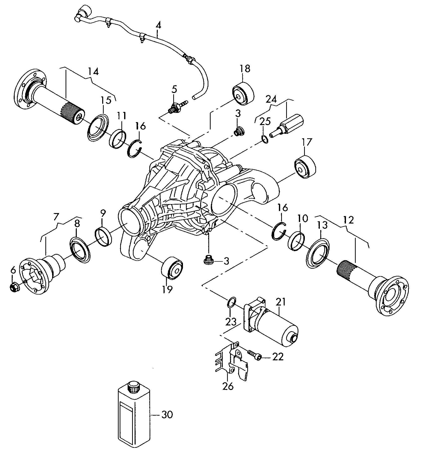 Volkswagen Touareg Motor For Adjustment Also Use Tial