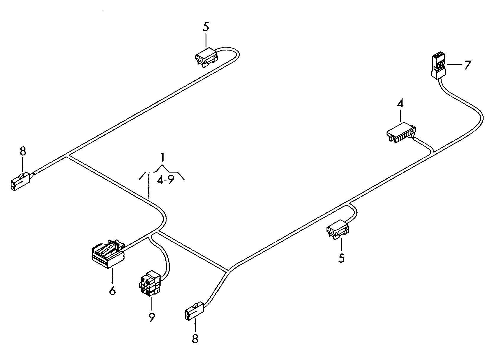 Volkswagen Radio Wiring Harness