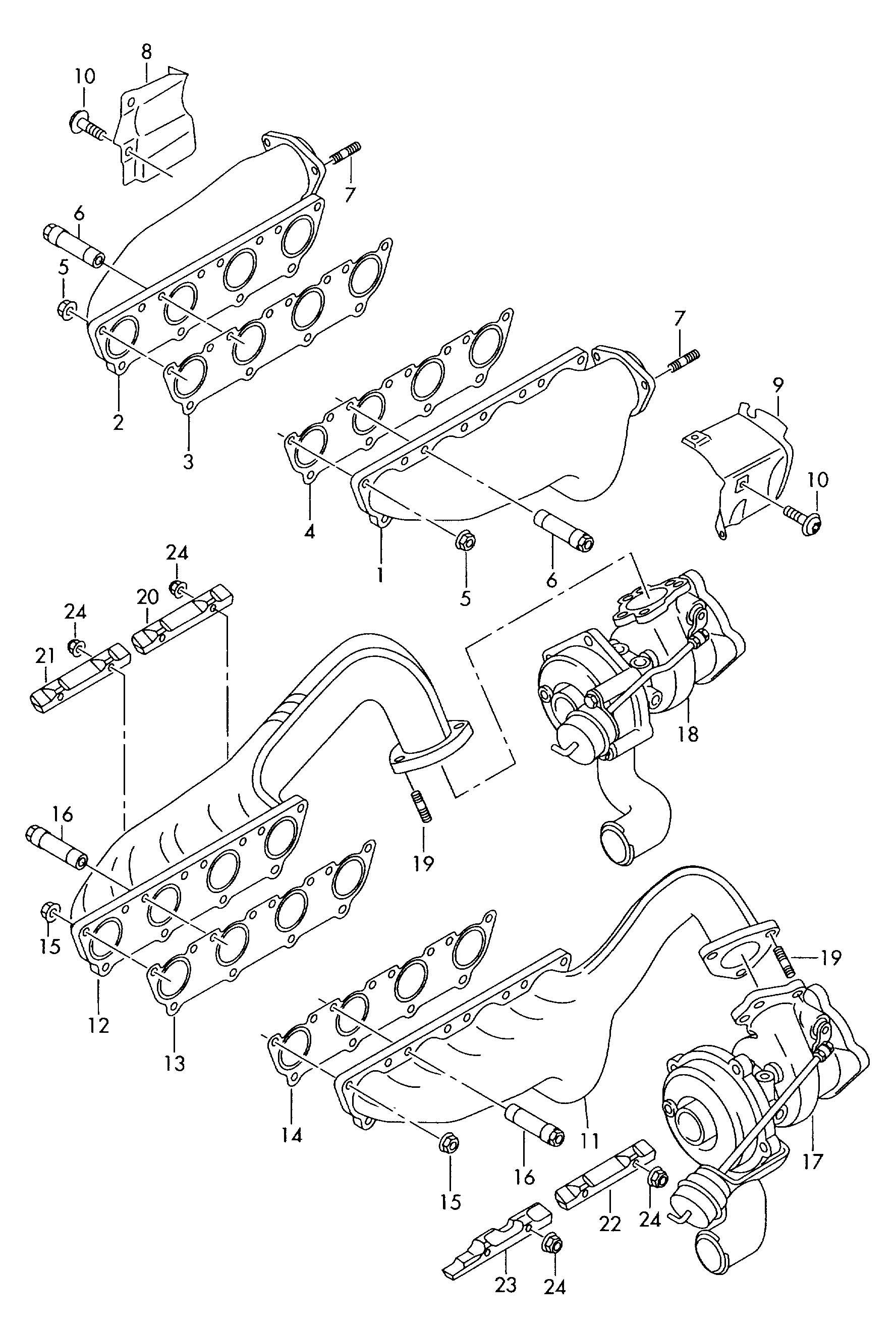 Volkswagen Touareg Gasket