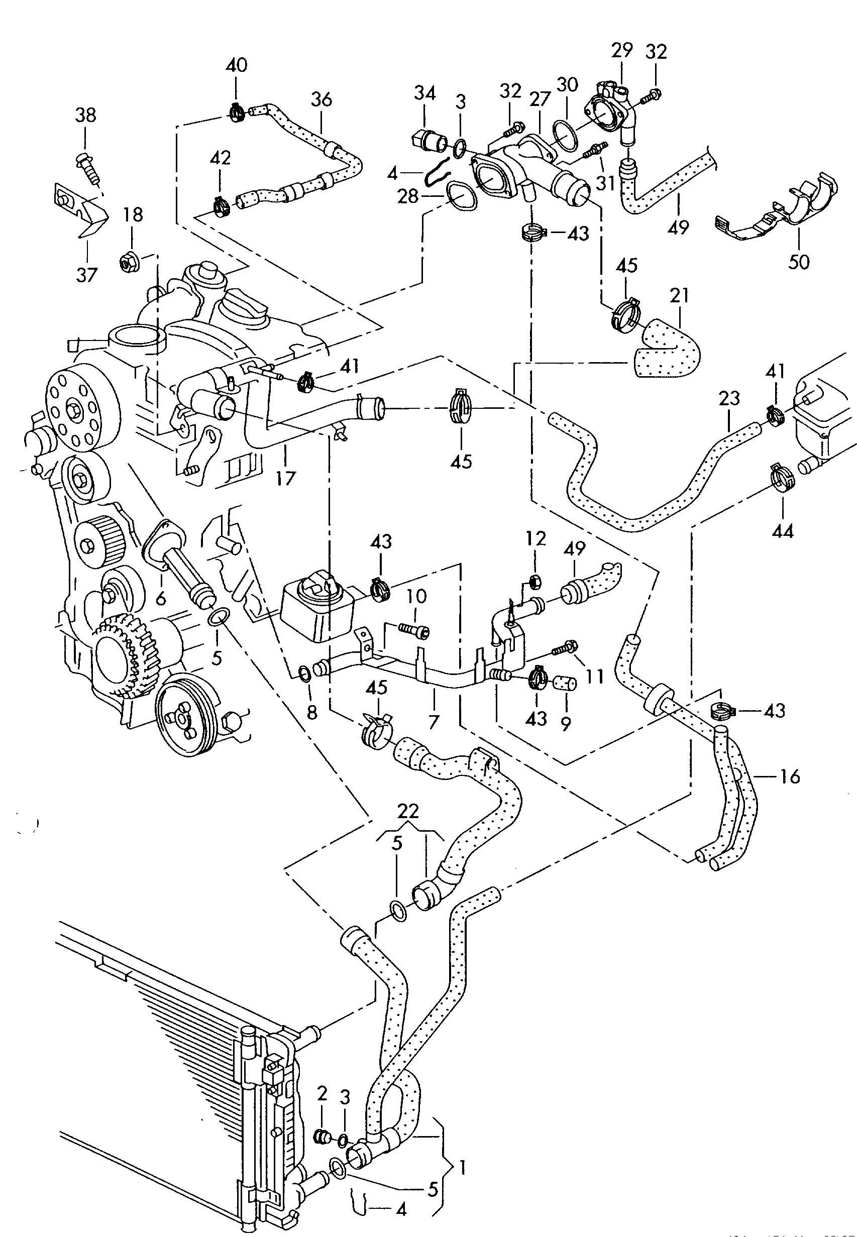 Volkswagen Passat 1 9l Tdi Water Cooling 1 9ltr