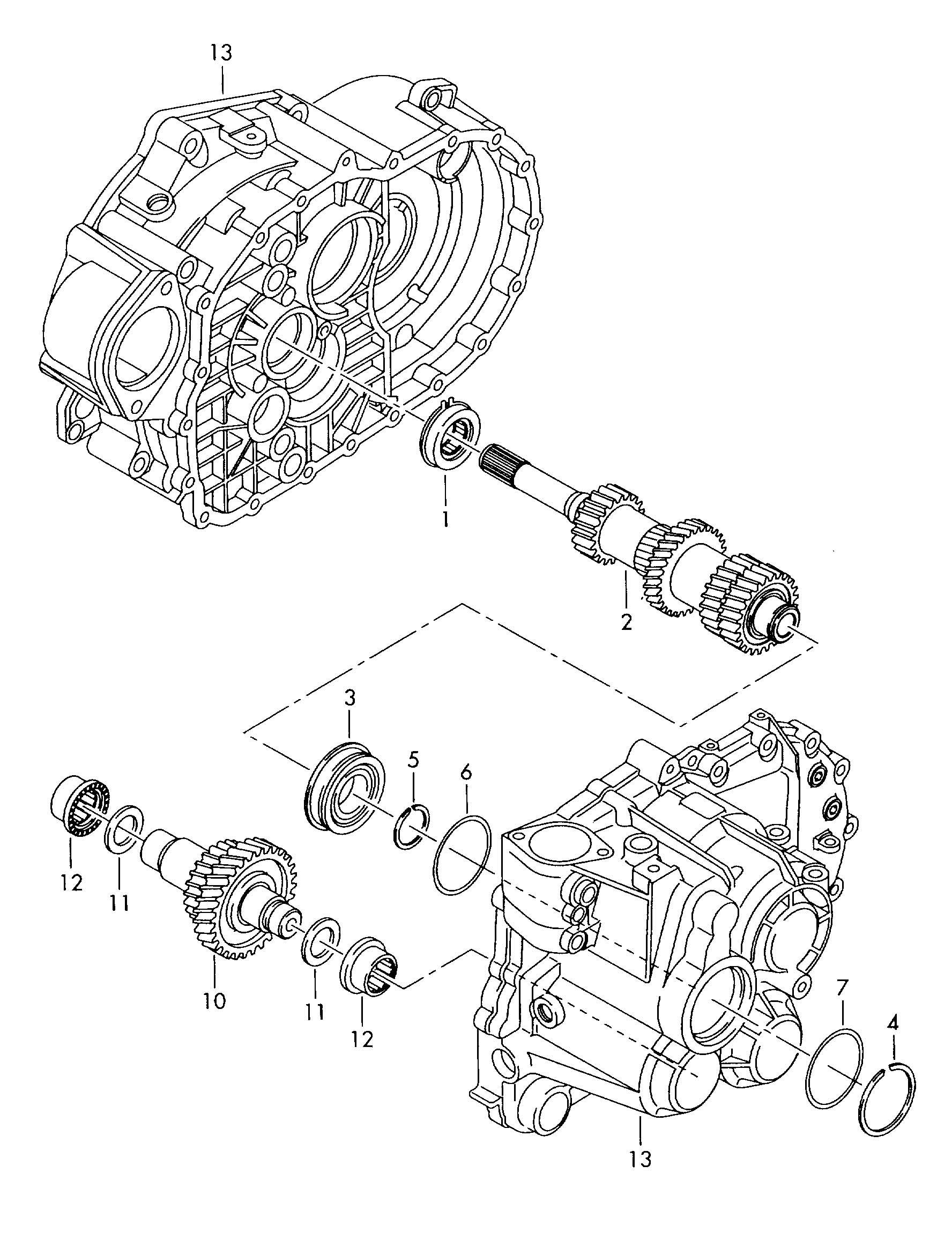 Volkswagen Jetta 1 6lsel Drive Shaft