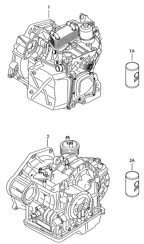 Volkswagen Jetta Variant 6 Speed Automatic Transmission 6