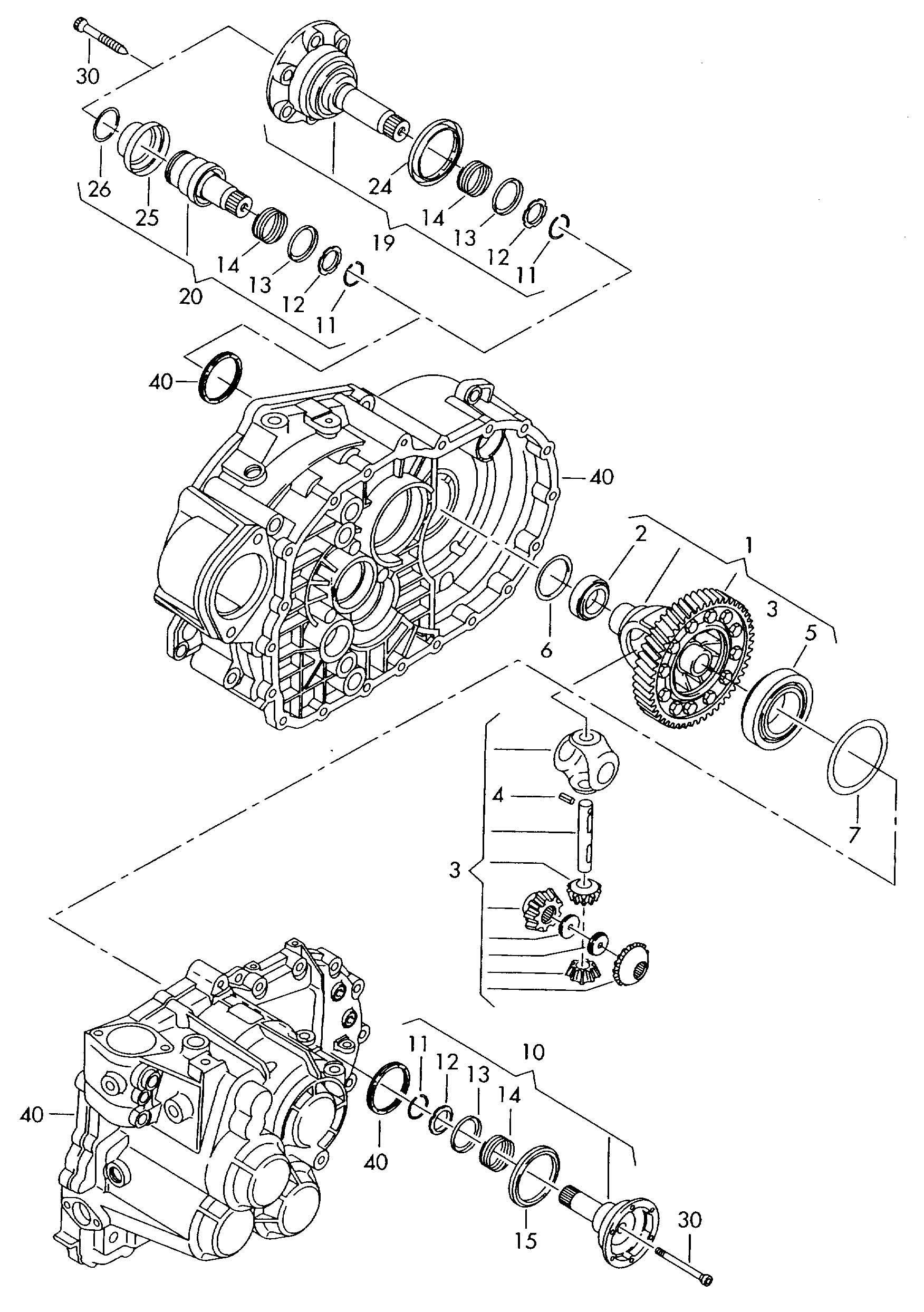 Volkswagen Jetta Thrust Washer