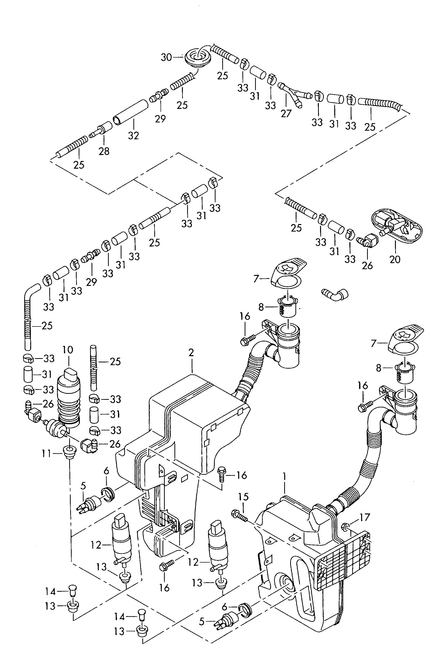 Volkswagen Eos Plug For Vehicles Without Water Level
