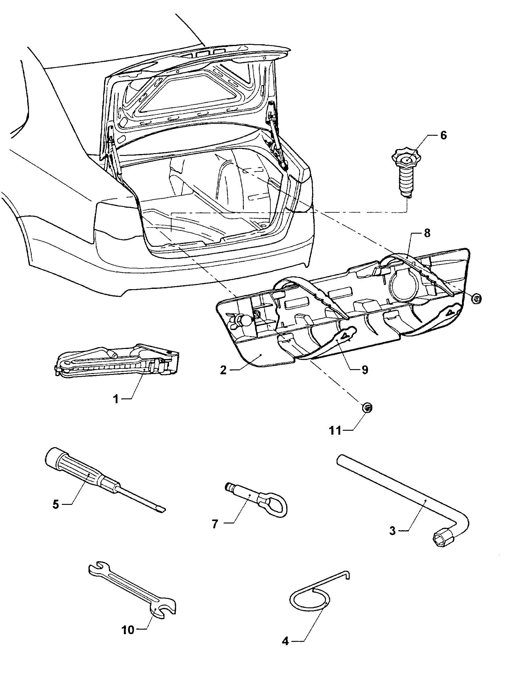 Volkswagen Jetta 1 6lsel Wheel Bolt Cap Removal Tool