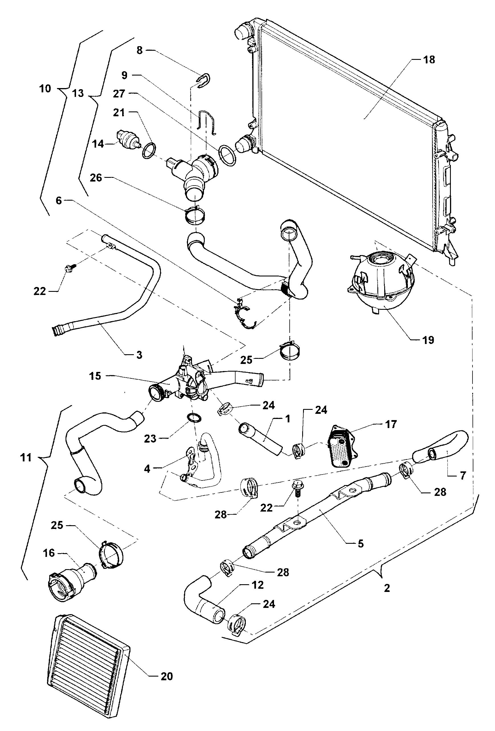 Volkswagen Jetta Cord For Engine Block Heater Block