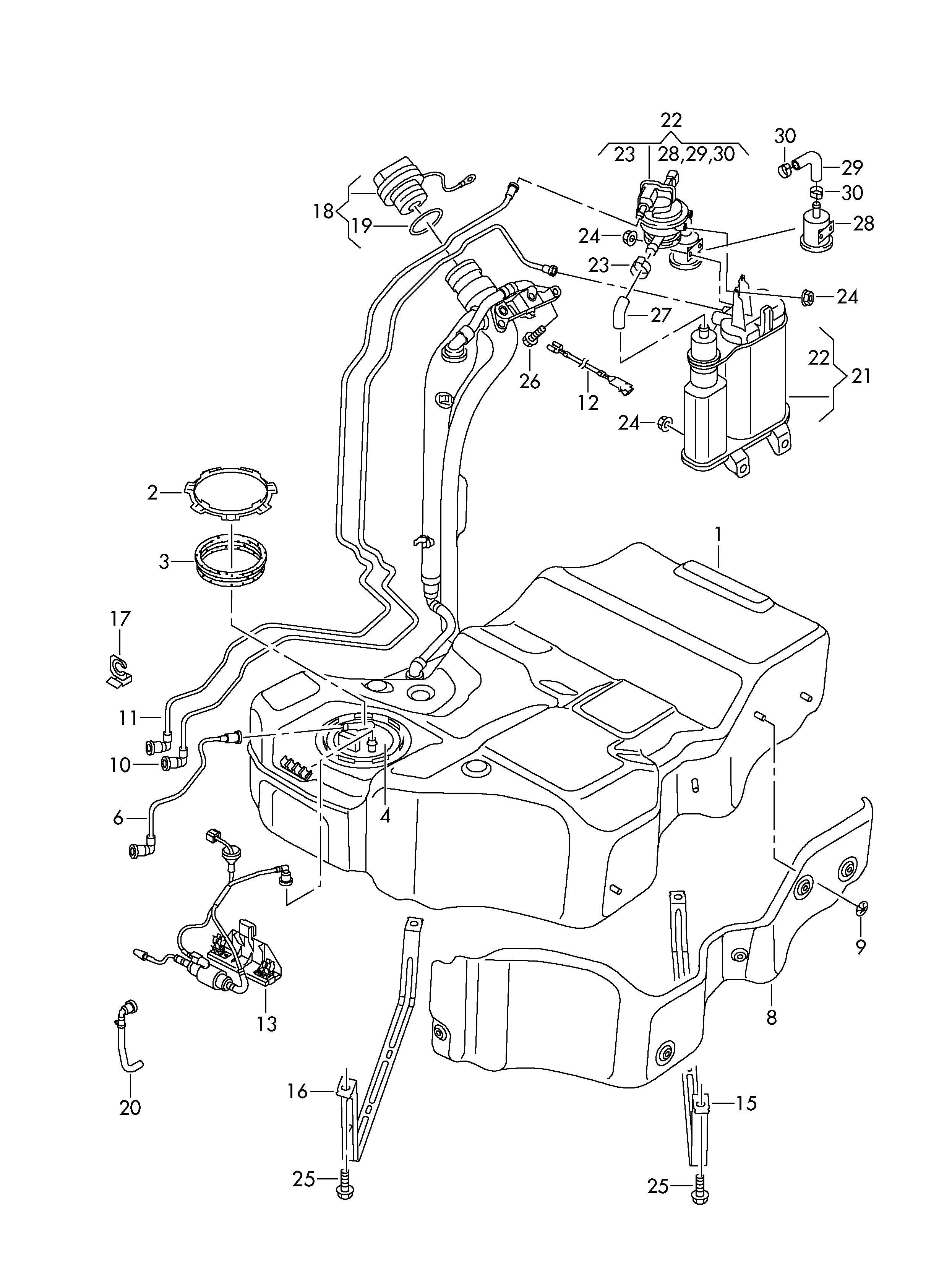 Volkswagen Passat With Leak Detection Pump Diagnosis