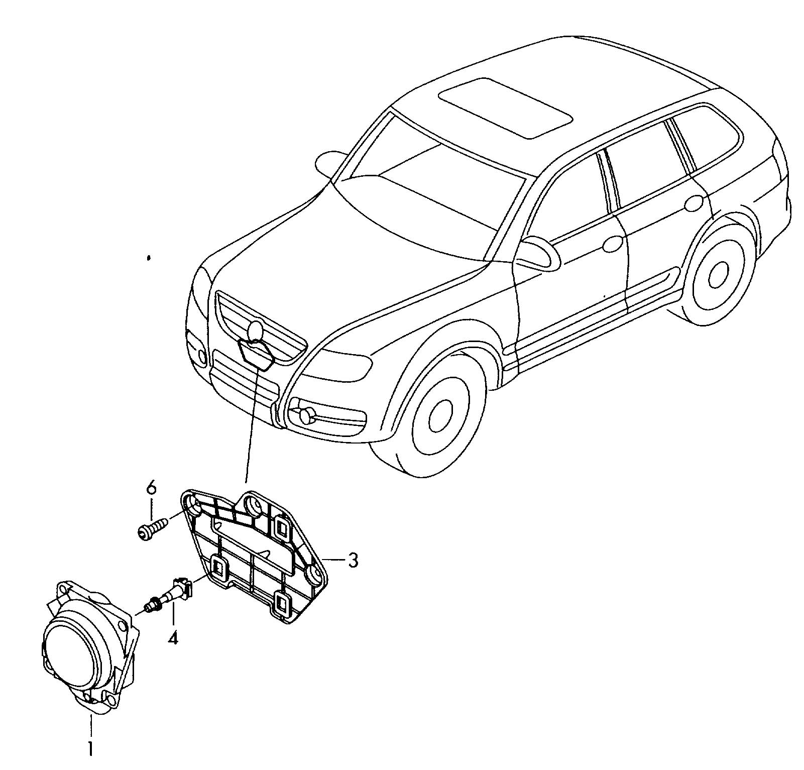 Volkswagen Touareg Control Unit With Software For
