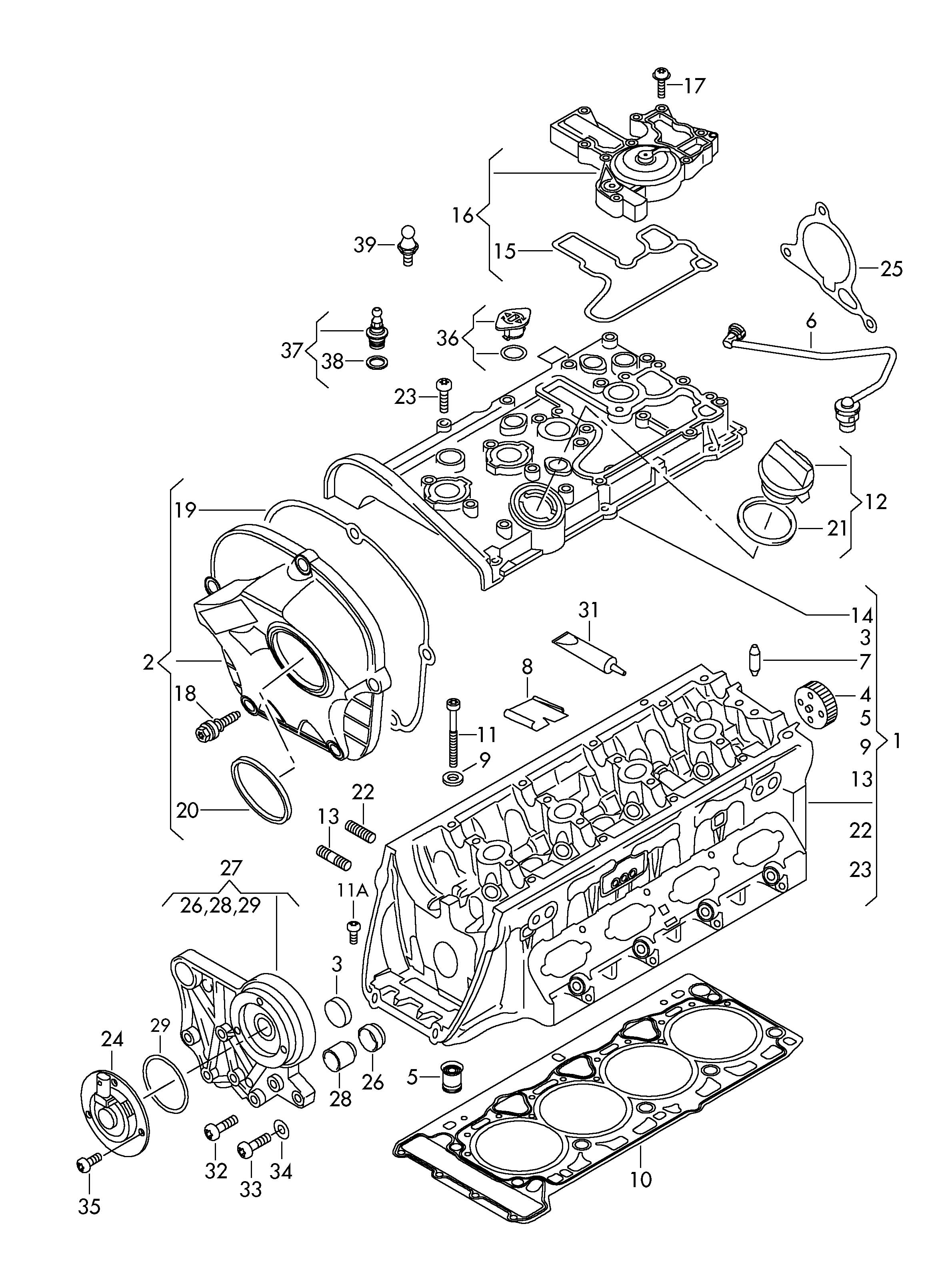 Volkswagen Golf Round Hd Screw Coverscrew
