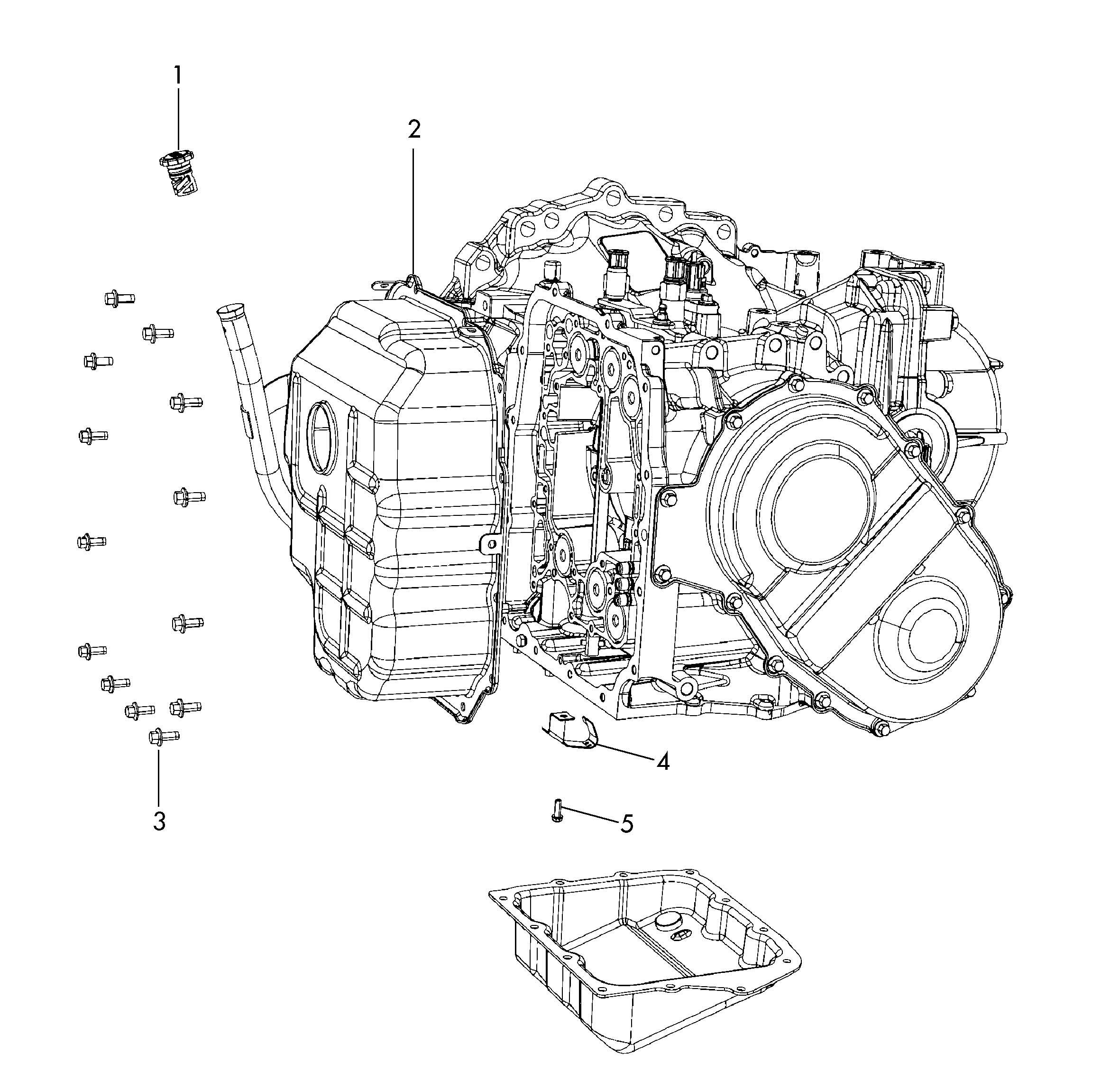 Volkswagen Routan Oil Filler Tube Cap Filler Pipe