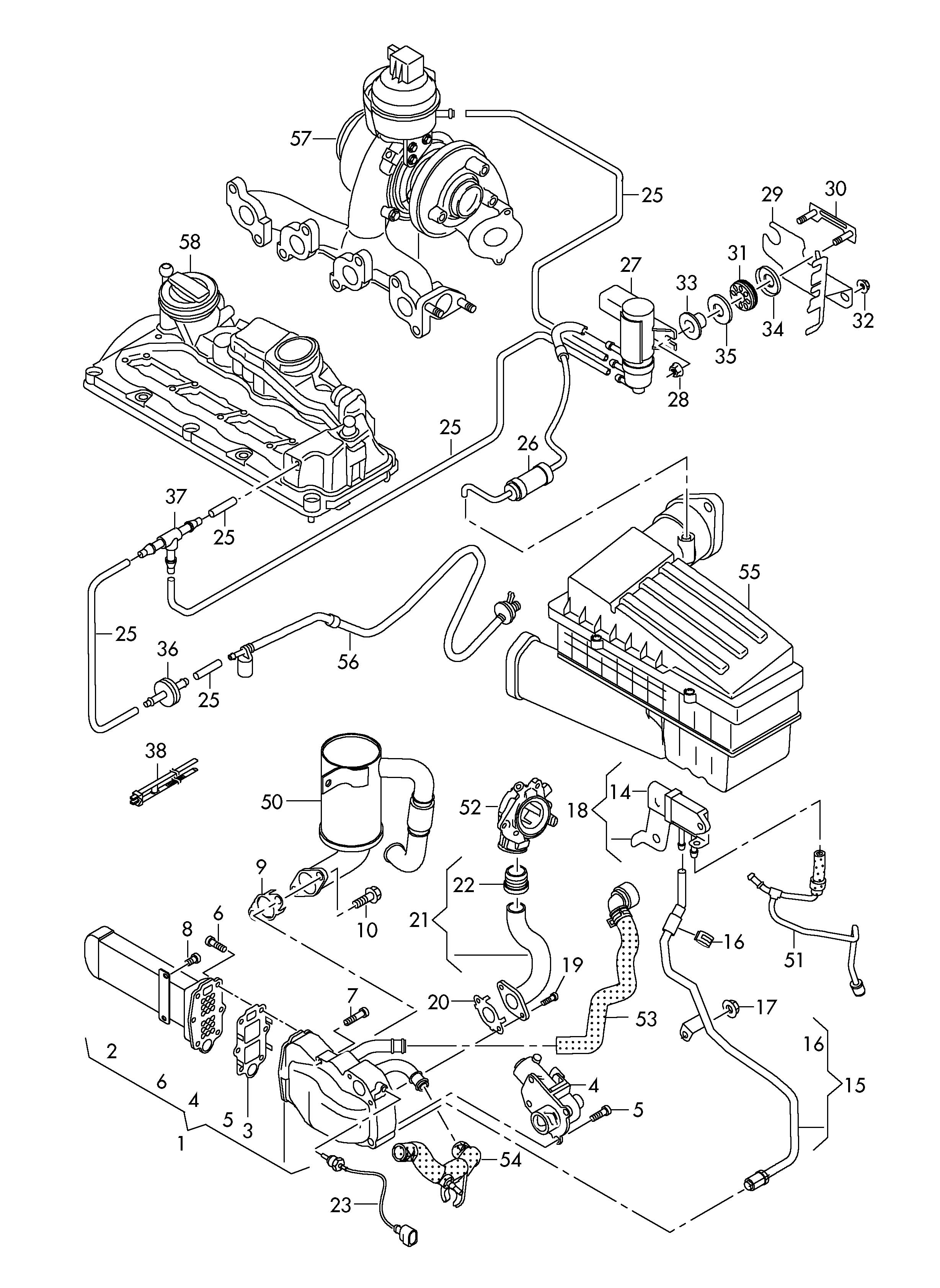 Audi Audi A4 Engine Diagram
