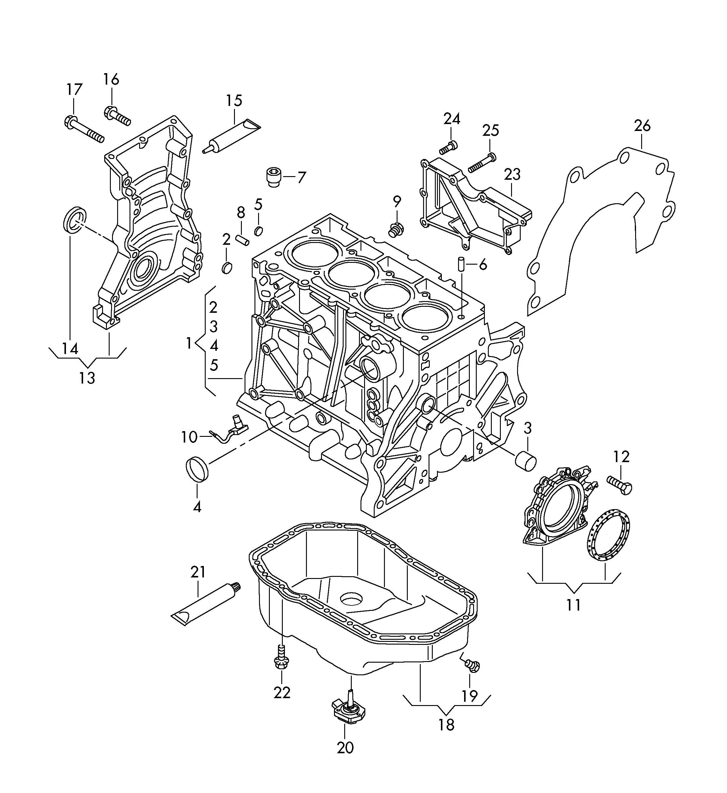 Volkswagen Jetta 2 5l 5 Cylinder Oil Level Sensor Cczb