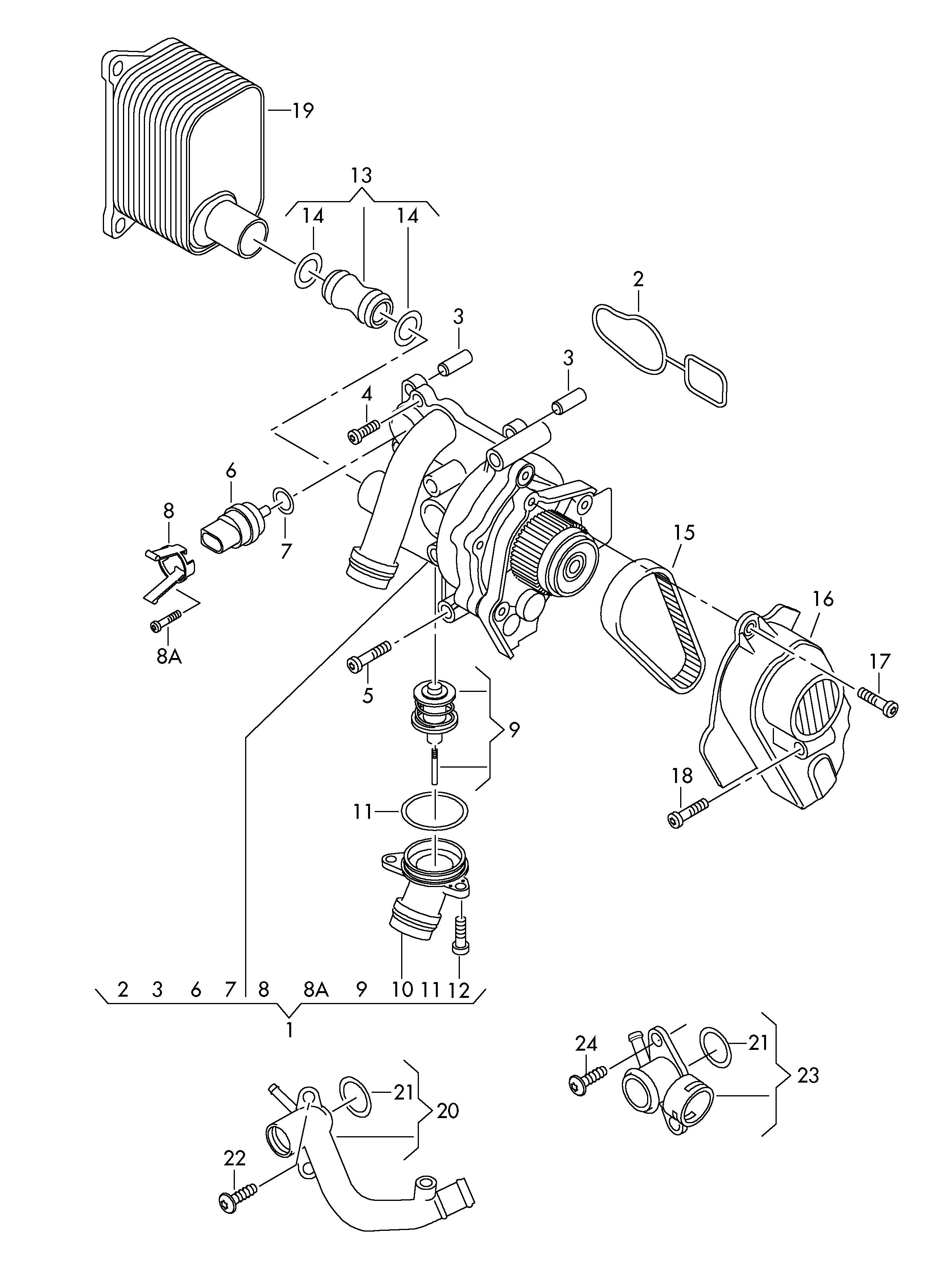 Volkswagen Union With Sealing Washer See Catalogue