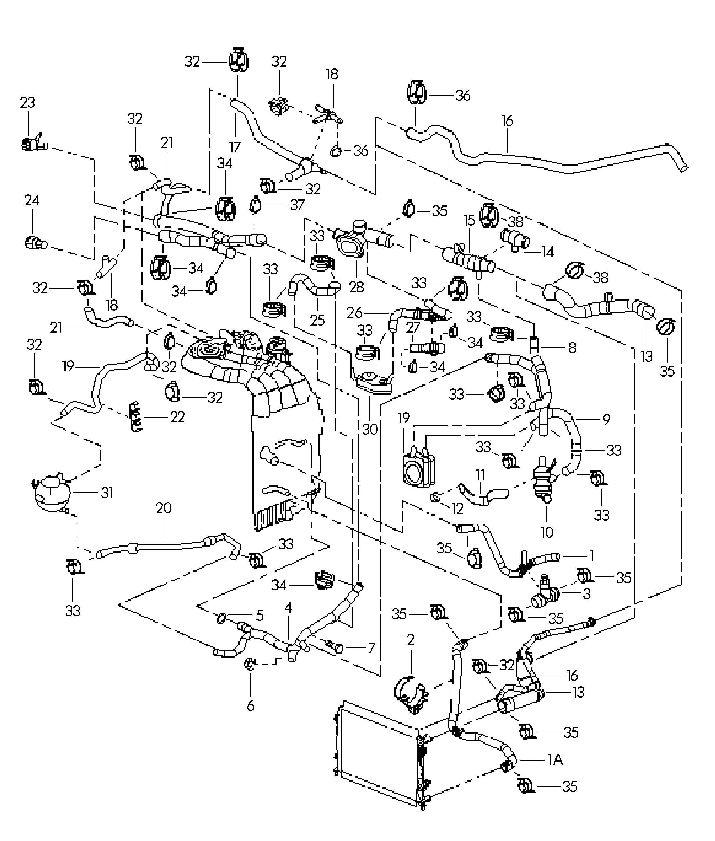 Volkswagen Passat 1 8l Turbo Water Cooling