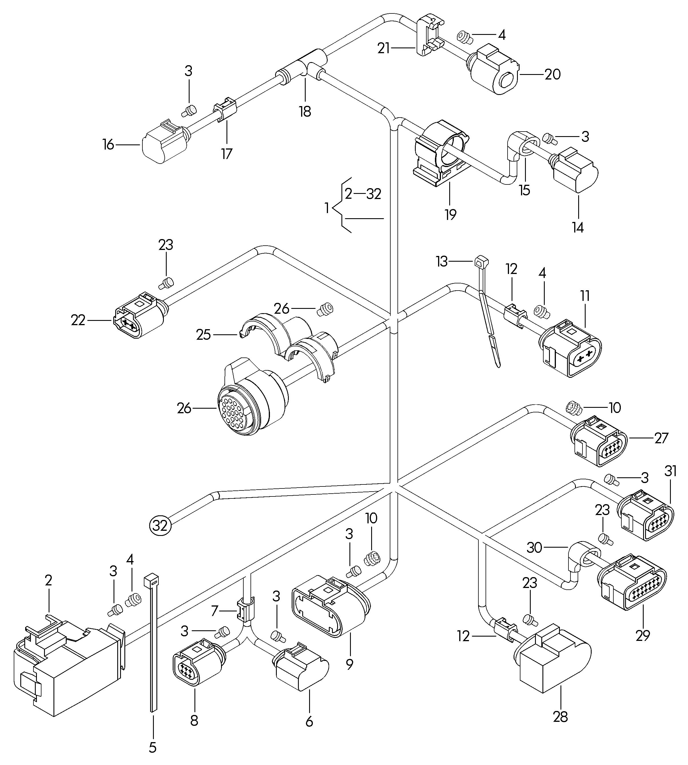 Vw Engine Wiring Harness Kits