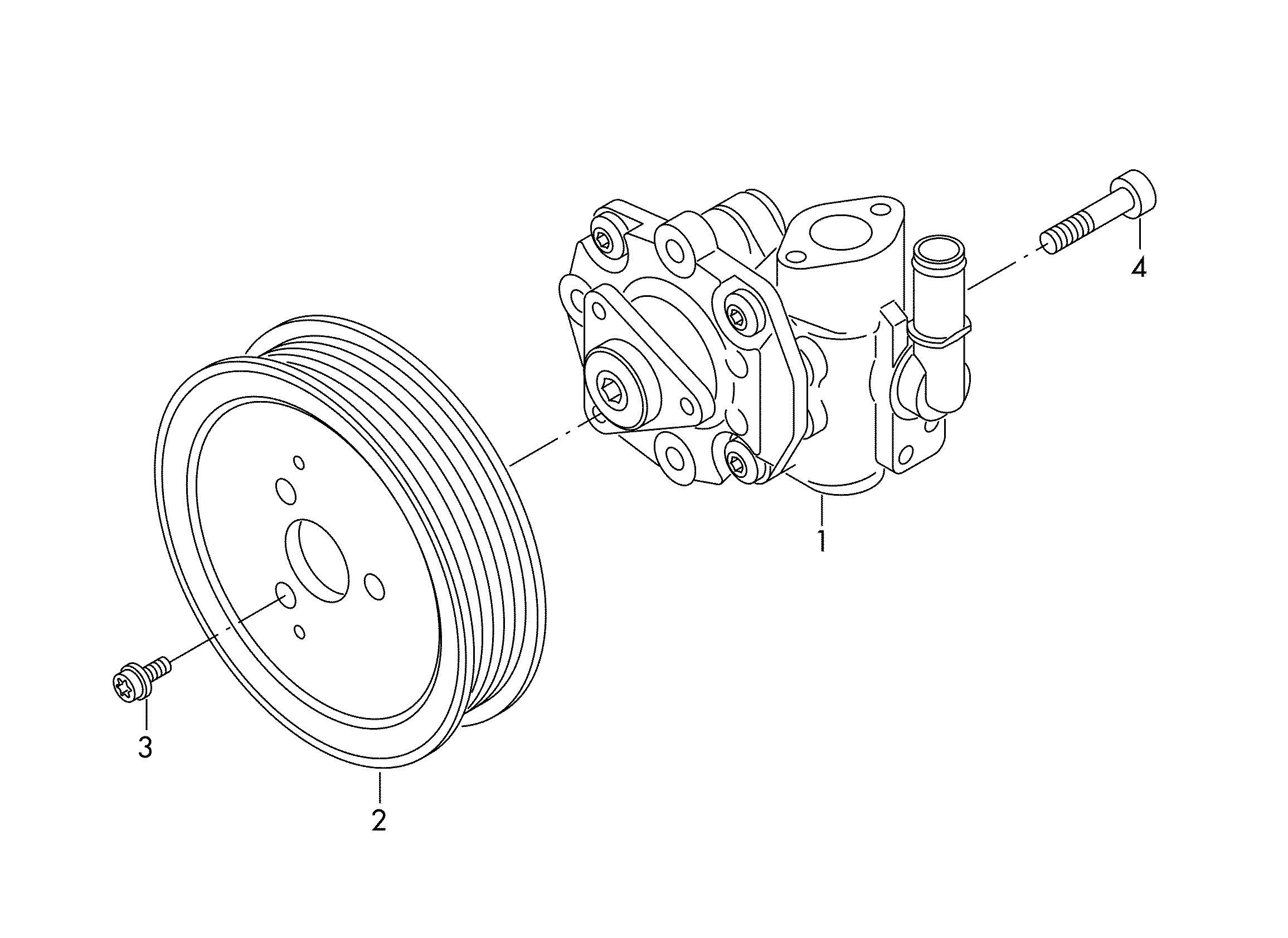 Power Steering Pump For Power Steering 3 0l 3 6ltr
