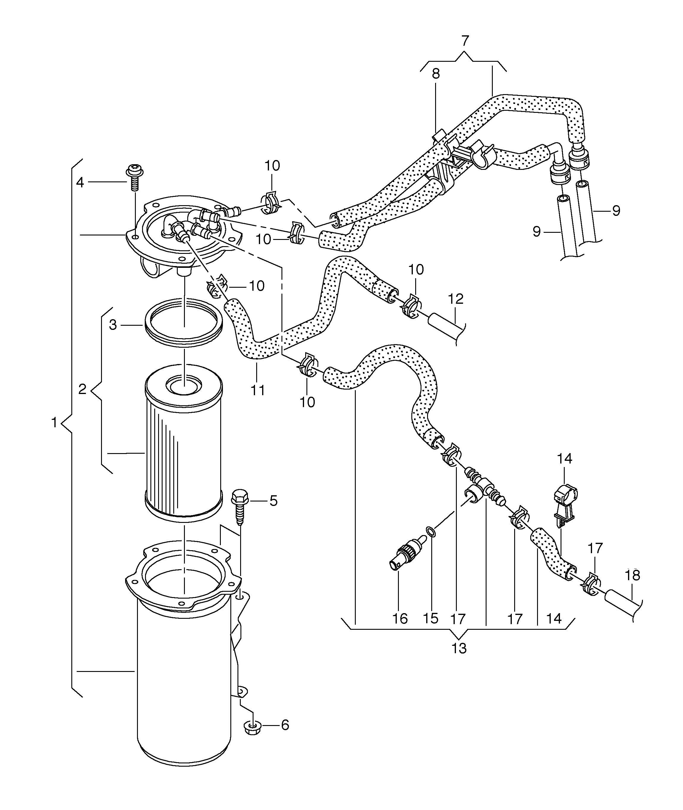 Volkswagen Gti Fuel Filter 1 6ltr