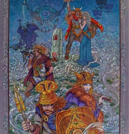Irish, Ireland, Myth, Legend, Irish Myth, Irish Mythology, Celtic, Celtic art, Celtic Mythology, Jim FitzPatrick, Art, Irish Art, balor, finn mccool