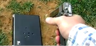 Dad Shooting Laptop
