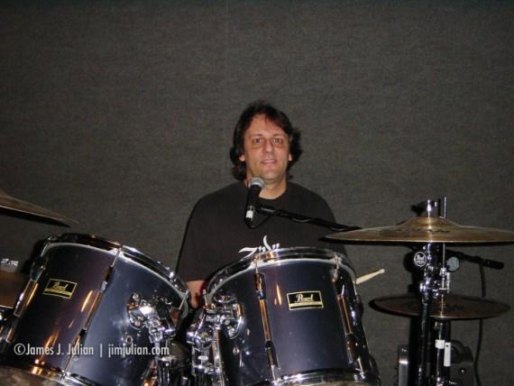 Jim Singing While Drumming