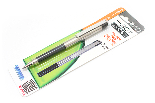 The Zebra F-301 Compact Pen has the following great features: