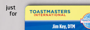 Toastmasters and the World Champion of Public Speaking
