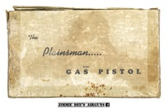The Challenger Arms Corporation Plainsman (CO₂) Gas Pistol box.
