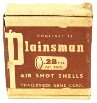 """A pack of """"air shot shells"""" for the Challenger Arms Plainsman air shotgun."""