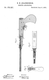 Quackenbush In-Line Push Barrel Patent