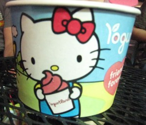 Hello Kitty Loves Yogurtland