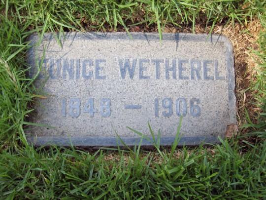Eunice Wetherel