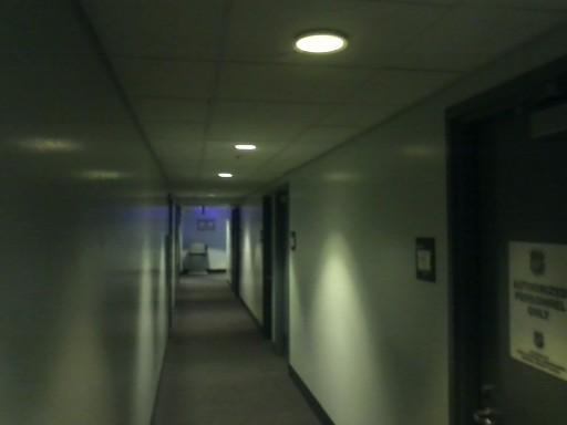 Pressbox Hallway