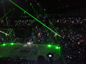 Kings Pregame Lights
