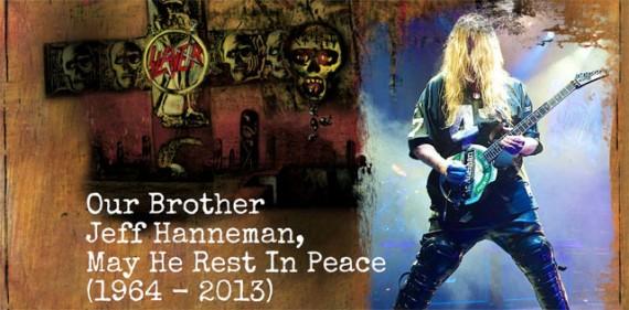 RIP Jeff Hanneman