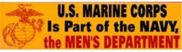 Marine Corps Sticker