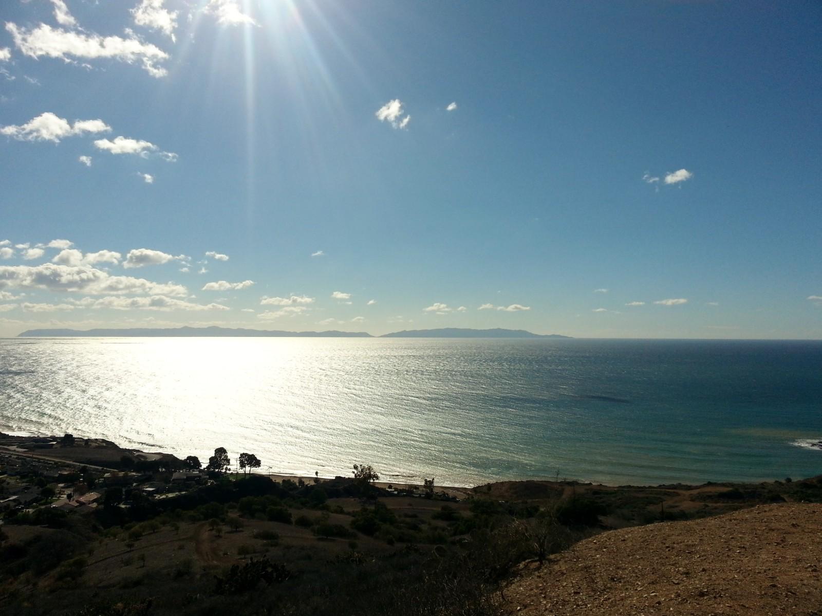 The Sun on the Ocean