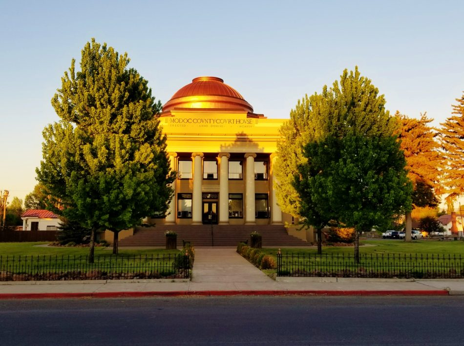 Modoc County Courthouse in Alturas