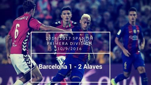 Alavés tog en overraskende sejr på Camp Nou i tredje spillerunde af indeværende sæson.