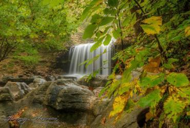 nature photography Nature Photogrpahy – Autumn in Bella Vista Arkansas Tanyard Creek Waterfall