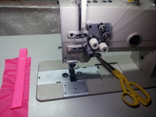 Kwong Lam Double Needle Sewing Machine